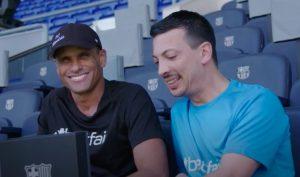Rivaldo e Gigi Potacqui